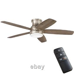 52 Inch 20-Watt LED Brushed Ceiling Fan Versatile with 5-reversible Blades NEW