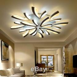 Acrylic Modern Led Ceiling Lights For Living Room Bedroom Dining Chandeliers New