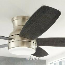 Ashby Park 52-inch Color Changing LED Brushed Nickel Ceiling Fan withLight &Remote
