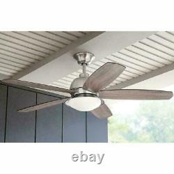 Ceiling Fan Integrated LED Indoor/Outdoor Light Kit Home Decorators Remote
