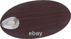 Ceiling fan light and pull switch WADE brushed nickel 106 cm 42