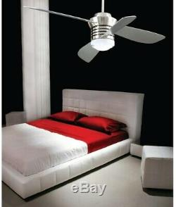 Hampton Bay Pilot 60 in. And 52 in. Indoor Brushed Nickel Ceiling Fan with Kit