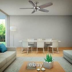 Home Decorators Collection Altura 60 in. Outdoor Brushed Nickel Ceiling Fan