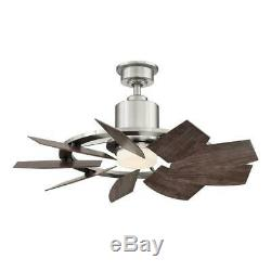 Home Decorators Collection Stonemill 36 in. LED Outdoor Ceiling Fan