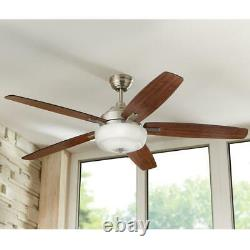 Home Decorators Collection Sudler Ridge 60 in. LED Indoor Brushed Nickel Ceiling