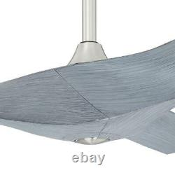 Home Decorators Collection Wesley 52 in. Greywood DC Motor Ceiling Fan w Remote