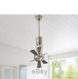 Home Decorators Collection Windhaven 20 in brushed nickel Ceiling Fan remote