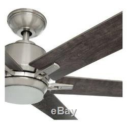 Home Decorators Collection YG493B-BN Kensgrove 64 LED BrushedNickel Ceiling Fan