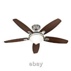 Hunter Contempo 5 Blade (132cm) Indoor Ceiling Fan with lights