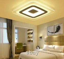 Lamp Ceiling Indoor Lights Modern Square Interior Acrylics Led Luminare Fixtures