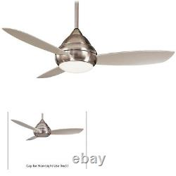Minka-Aire F476L-BNW Concept I Wet 52 Brushed Nickel Wet Outdoor Ceiling Fan