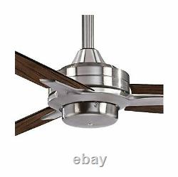 Minka Aire F727 BN MM Ceiling Fan Maple Blades Brushed Nickel Finish 52 Inch New