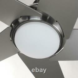 Progress Lighting Gust Collection 54 in. LED Brushed Nickel Ceiling Fan