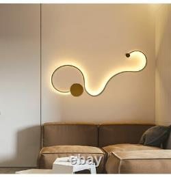 Shadeless Chandeliers Wall Ceiling Fixtures Modern Design Led Bulb Lightings New