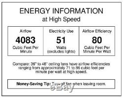 Westinghouse 7247300 Alloy 42-Inch Reversible Three-Blade Indoor Ceiling Fan